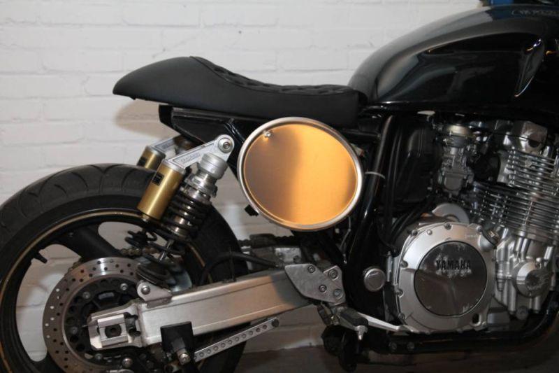 Portanumero Racer Cafe Alluminio Fianchetti e Bandine