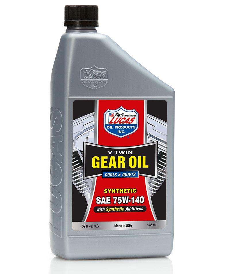 Olio Cambio 75w140 V-Twin Lucas Oil ✓