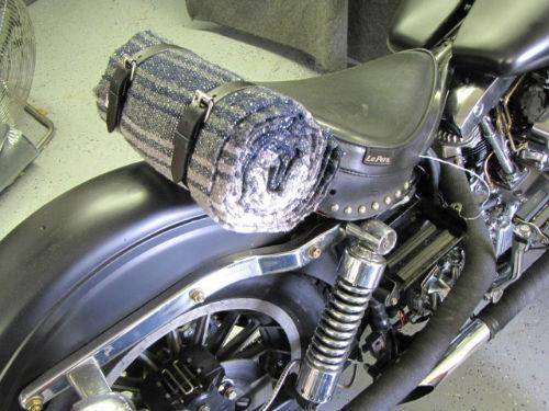 Black-White Serape Coperta Coperta Mex Moto