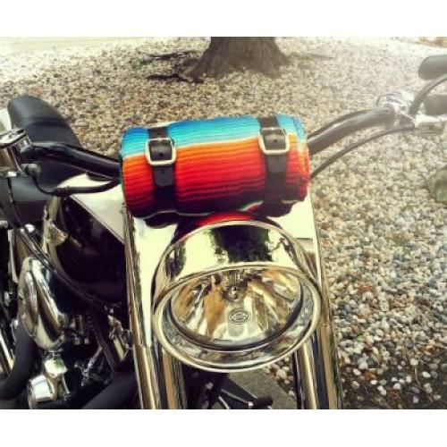 Coperta moto Yellow Serape Coperta Mex Moto