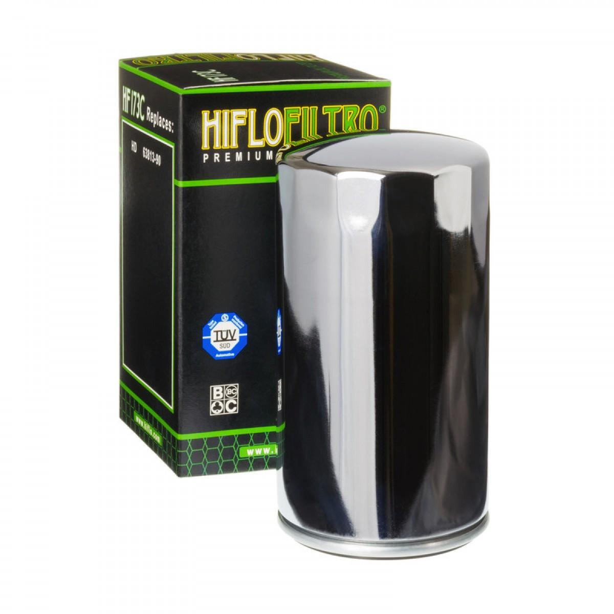 Harley Hiflofltro Cromato Dyna Glide 91-98 Filtro olio