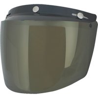 Visiera casco Universale con  Flip in 4 colori Casco