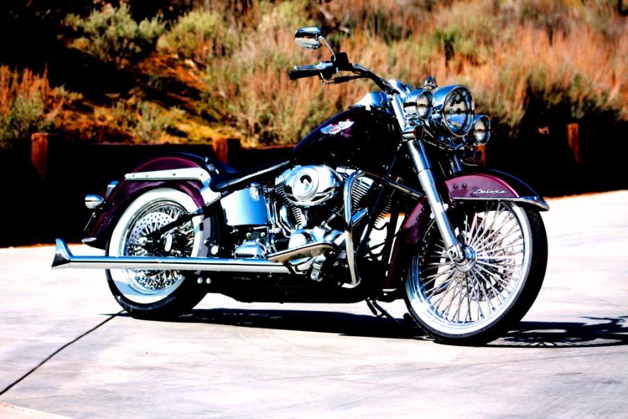 HD Fat 50 da 18 pollici Posteriori Moto Custom