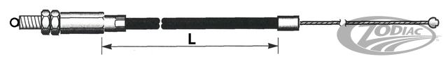 Buell XB 96-98 ritorno gas Black