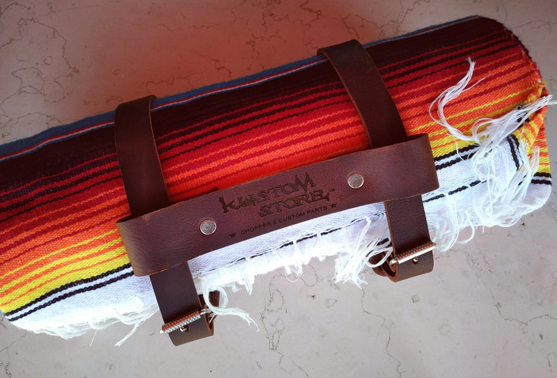 Cinghie in Pelle manubrio Coperta Mex Moto