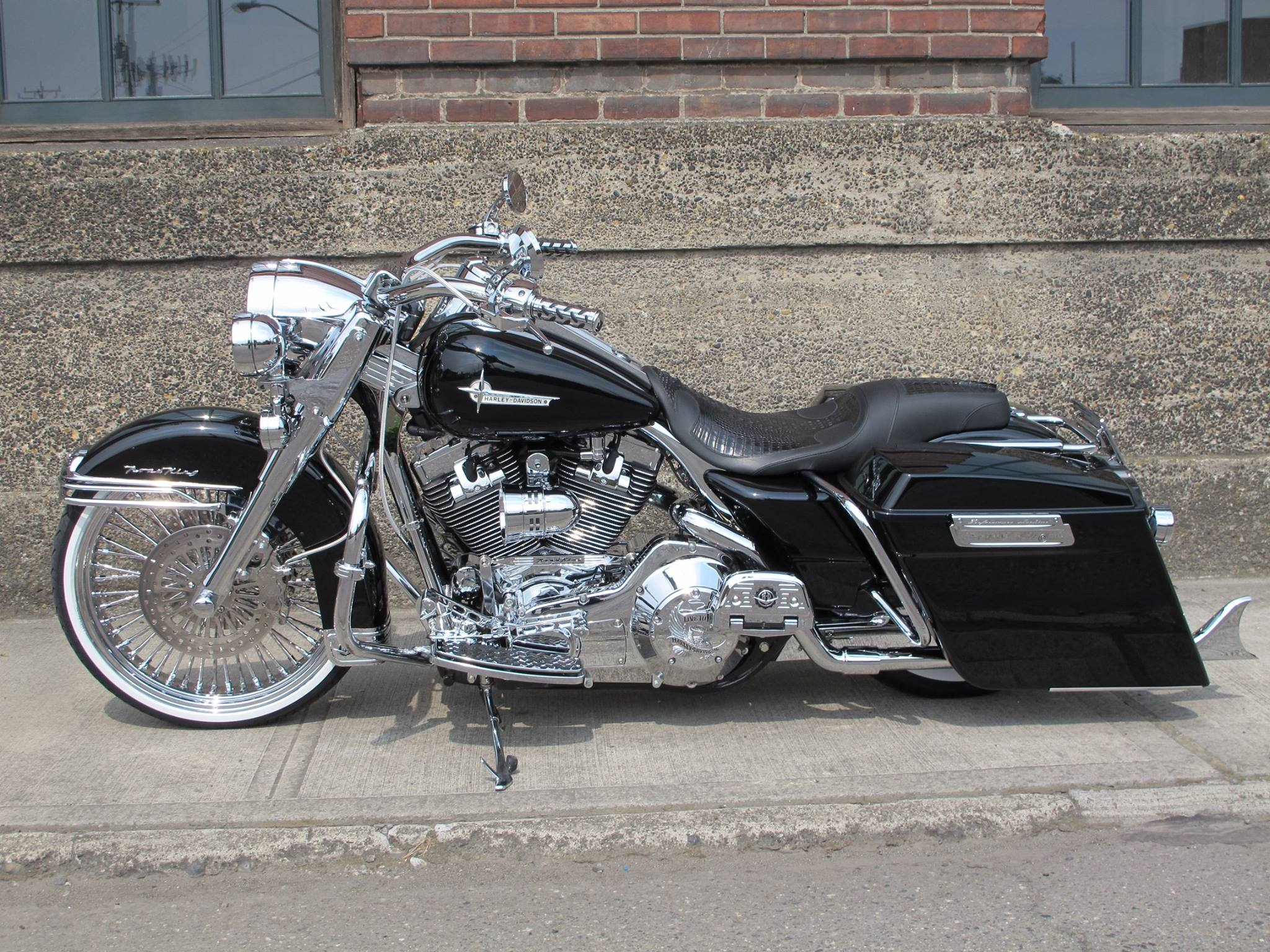 Harley Fat 50 da 21 pollici Anteriori