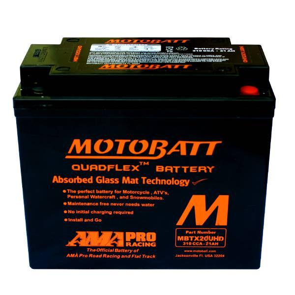 MotoBatt x Harley 4 Poli 21 AMP Batterie